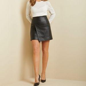 NWT RW & Co. High-Waist Faux Leather Size 6